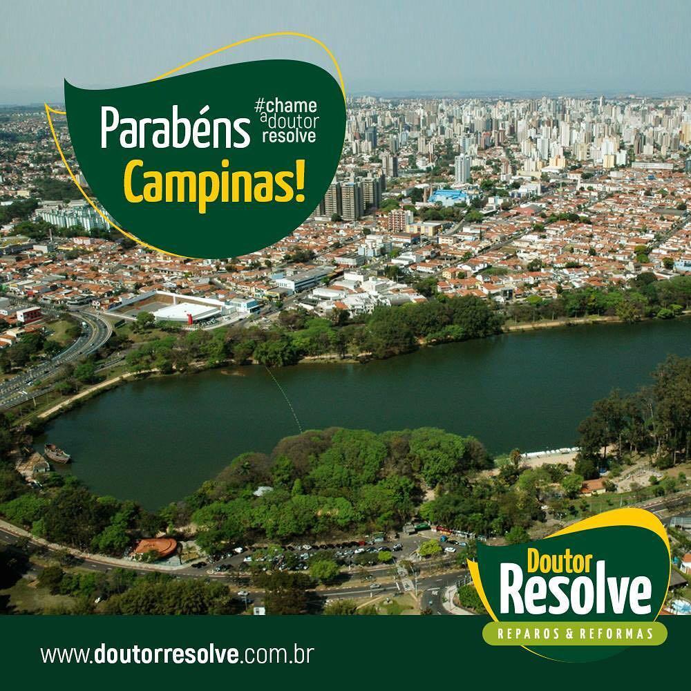 A Doutor Resolve parabeniza a cidade de Campinas pelos seushellip