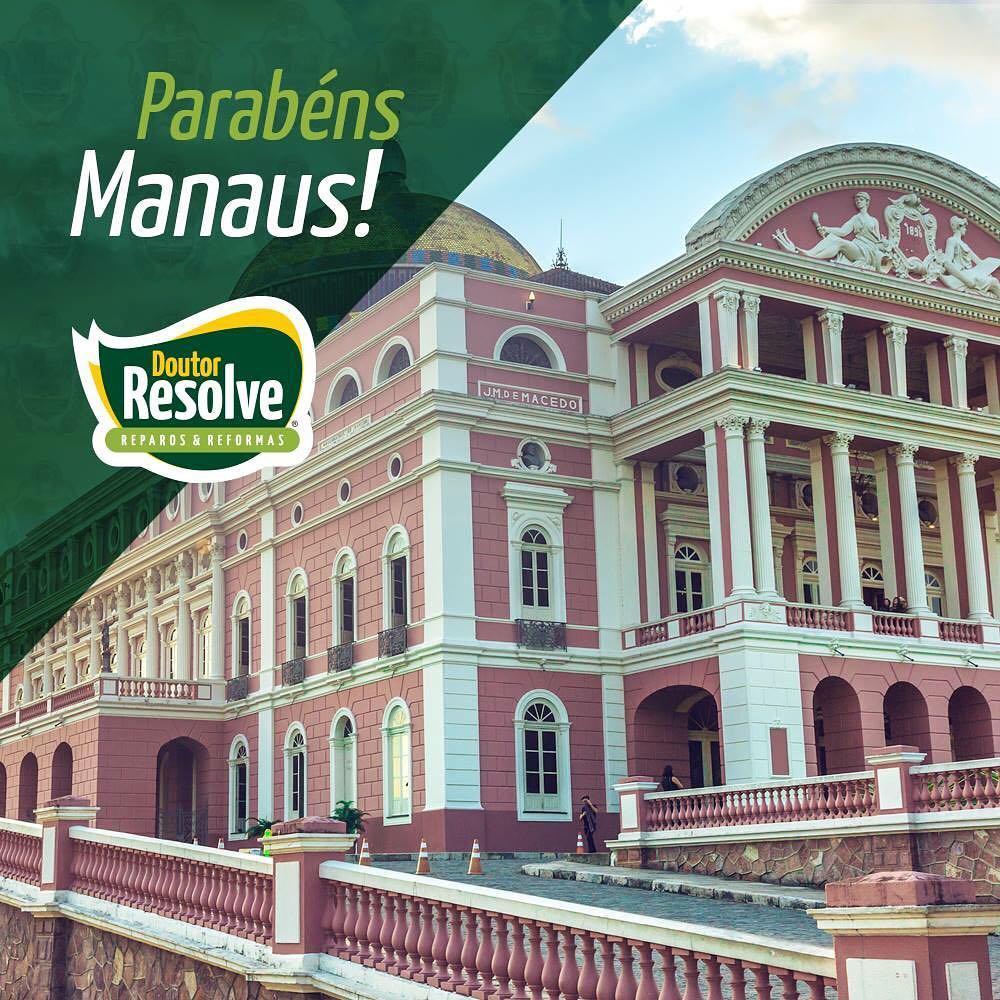 A Doutor Resolve parabeniza a cidade de Manaus pelos seushellip